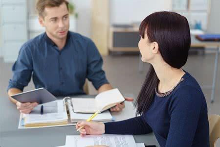 Berufsunfähigkeitsversicherung Beratungsgespräch