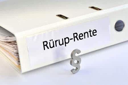 MoneyCheck   Rürup-Rente