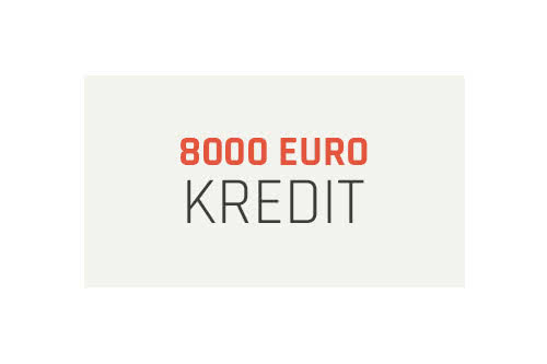 MoneyCheck | 8000 Euro Kredit