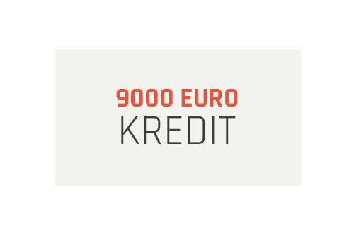 MoneyCheck | 9000 Euro Kredit