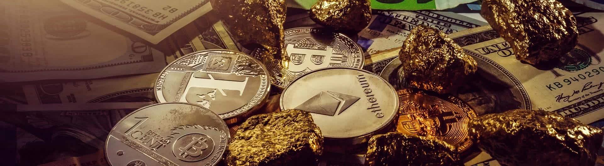 Gold oder Bitcoin – wo investieren?